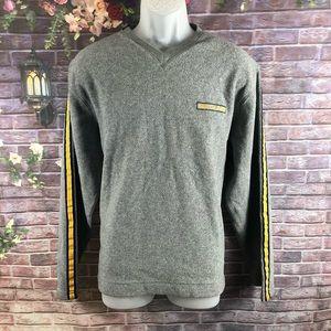 Náutica Men's V-Neck Sweaters Faux Fur Size M